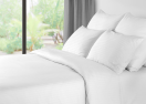 201600480240 Duvet cover 240 x 260 cm open model,  hotel linnen